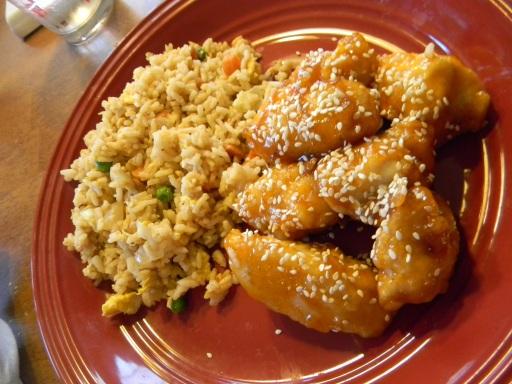sesamechick&rice